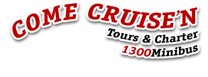 Come Cruise'n - Adelaide Mini bus service, Tours and Charter - Phone: 1300 646 428